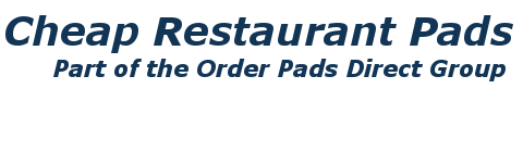 Cheap Restaurant Pads